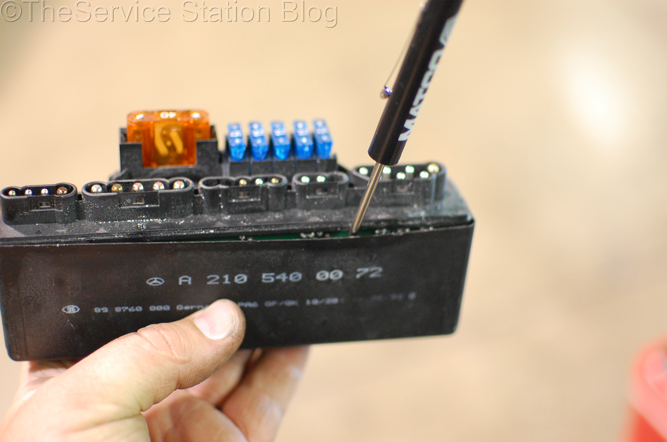 mercedes slk230 k40 relay module the service station blog rh theservicestationblog com Fan Relay Wiring Diagram mercedes k40 relay wiring diagram