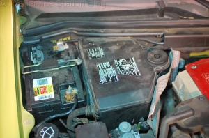 Underhood location